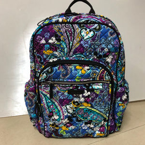 Vera Bradley Iconic Campus Tech Backpack Disney